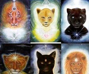 energy, spiritual, and love image
