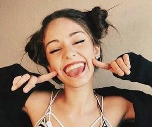 girl, tumblr, and smile image