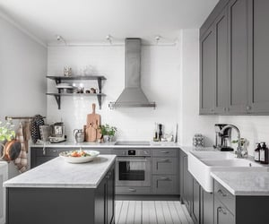 A Stylish White and Grey Scandinavian Apartment - The Nordroom