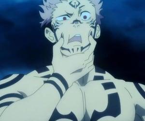 anime, jujutsu, and sukuna image