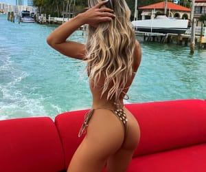Miami, bikini, and sunshine image