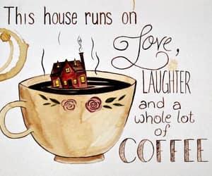 art, illustration, and coffee image