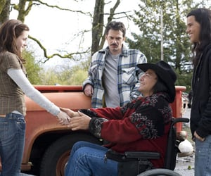 kristen stewart, Taylor Lautner, and billy burke image