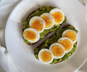 avocado and egg image