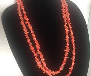 etsy, hawaiian, and coral necklace image