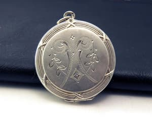 etsy, sentimental jewelry, and 800 silver image