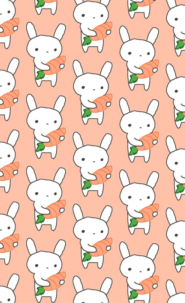animals, carrot, and rabbit image