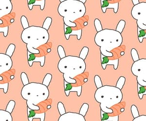 animal, bunny, and patterns image
