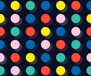 abstract, art, and dot image