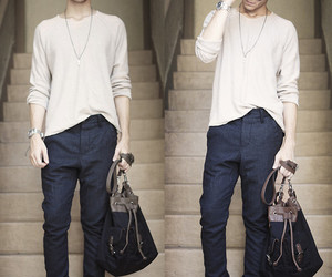boy, handsome, and men's fashion image