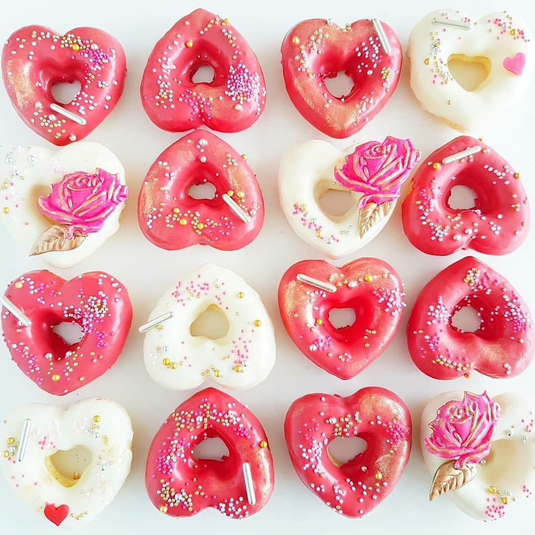 aesthetic, delicious, and donuts image
