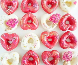 Heart shaped Donuts   @eve365