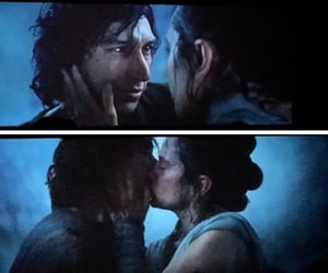 kiss, star wars, and adam driver image