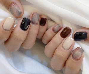 beige, black, and brown image