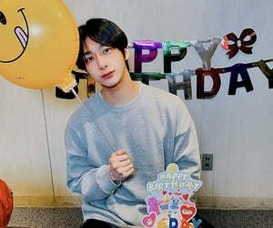 happy bday, hyungwon, and chae hyungwon image