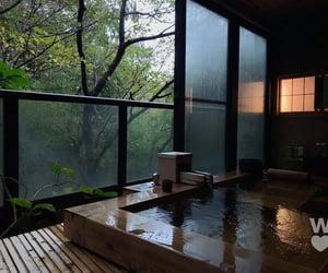 bali, bath, and jungle image