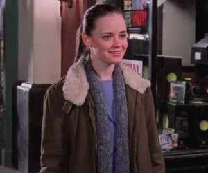 coat, gg, and gilmore girls image