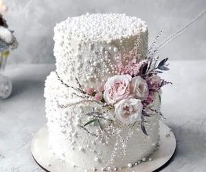cake, mariage, and wedding image