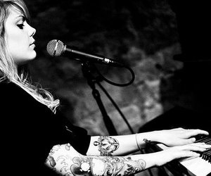 Coeur de pirate, singer, and tattoo image