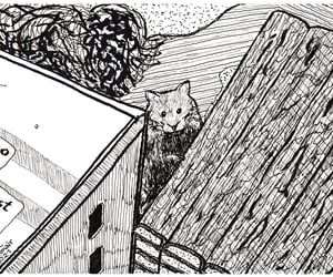 arte, drawing, and hamster image