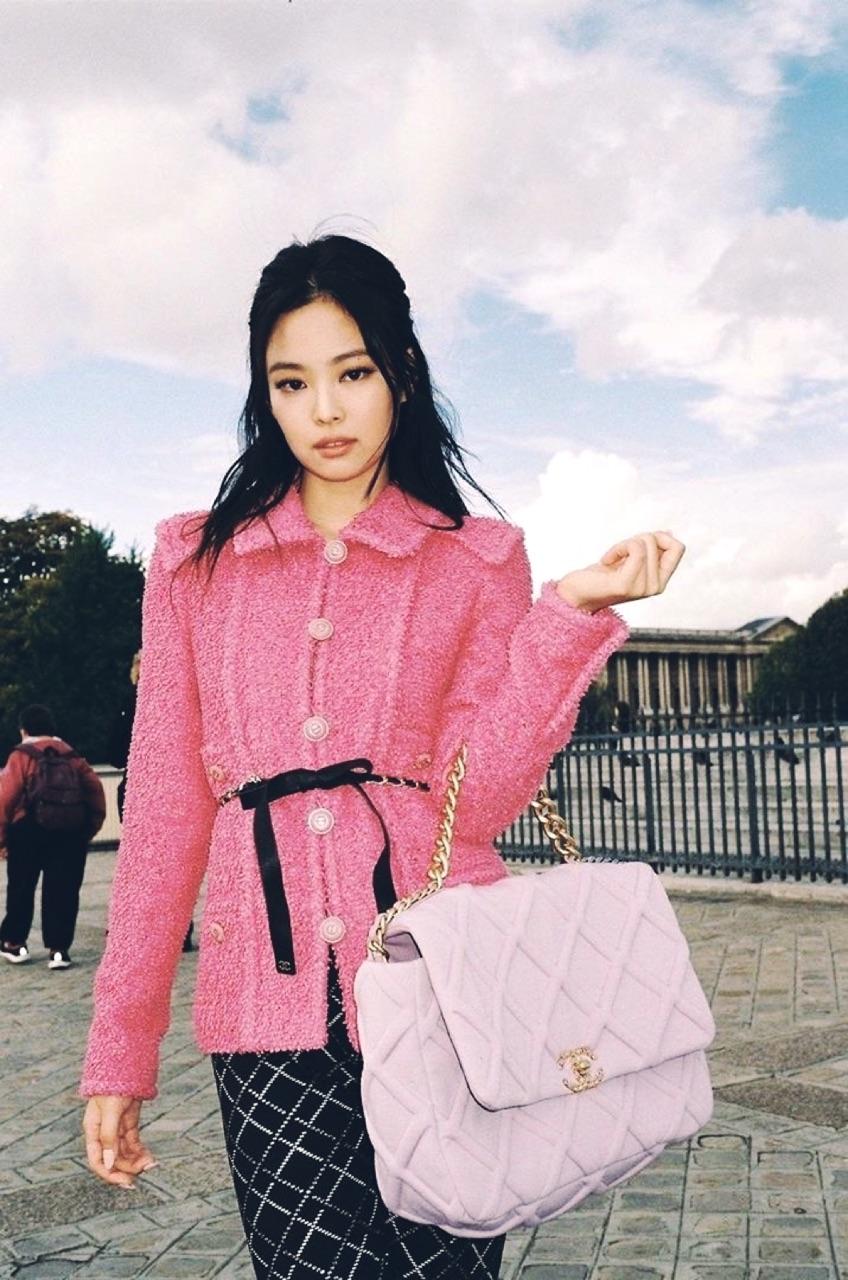 kim jennie, celebrities, and chanel image