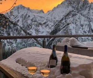 wine and winter image