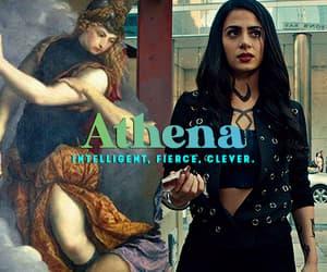 athena, greek mythology, and aesthetic image