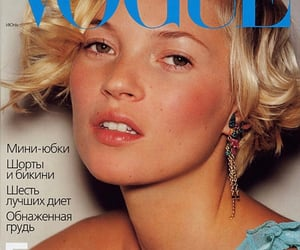 cover, kate moss, and vogue image