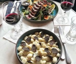 food, nice, and pasta image