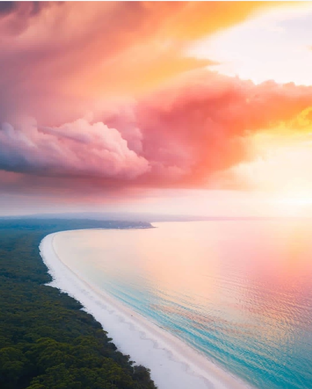 beach, nature, and clouds image