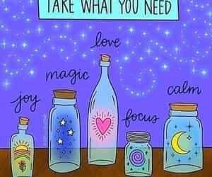 love, calm, and magic image