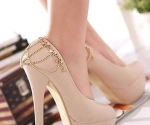 trends, fashion shoes, and heels image