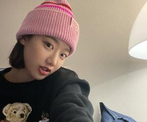 april, naeun, and kpop image
