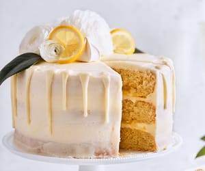 Citrus Champagne Layer Cake