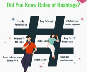 socialmedia, hashtags, and business growth image
