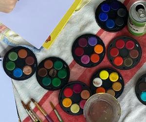artsy, art, and bright image