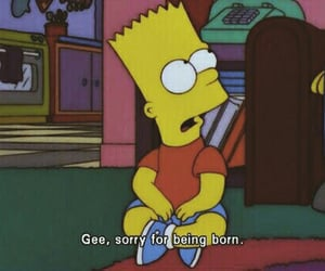simpsons, bart, and quotes image