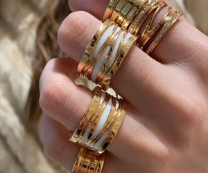 bulgari, gold, and jewelry image