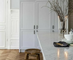 architecture, kitchen, and home image