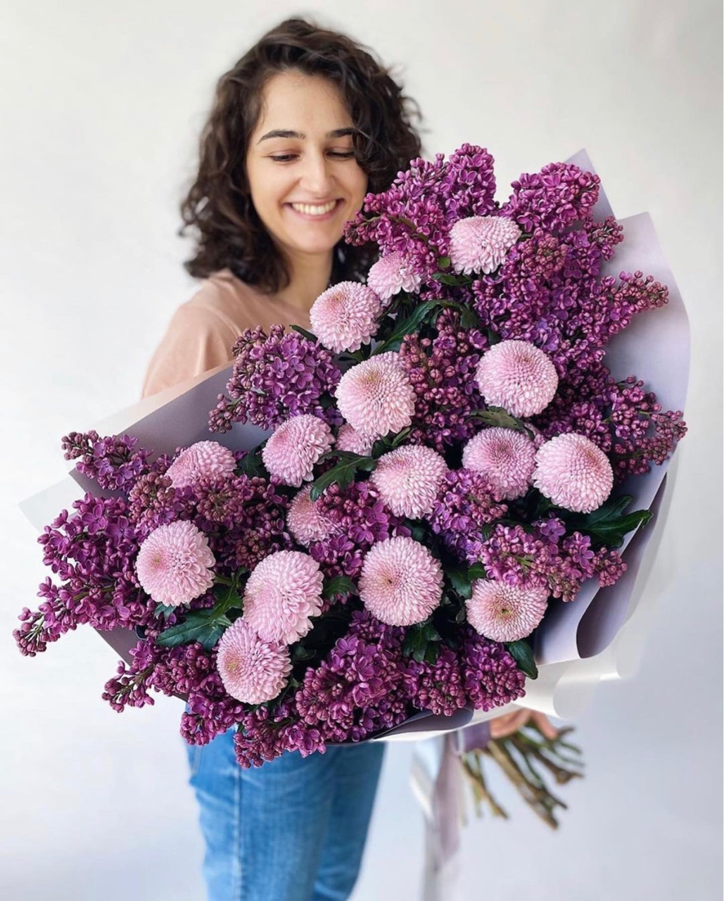 lovely, purple, and flowers image