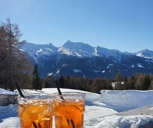 Aperitivo, italy, and winter image