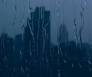 gif and rain lluvia mood image
