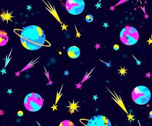 art, comet, and cosmic image