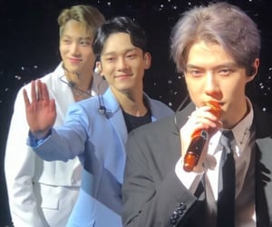 Chen, kai, and sehun image