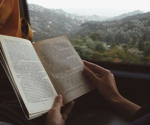 book, travel, and reading image