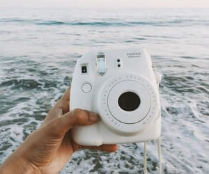 fujifilm, beach, and camera image