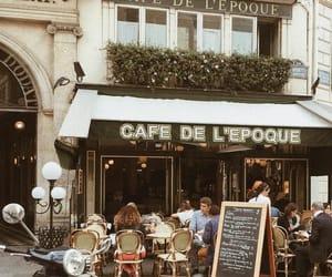 chic, paris, and dinner image
