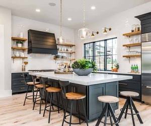 inspiration, kitchen, and kitchen design image