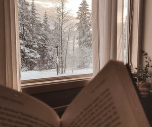 aesthetic, cozy, and reading image