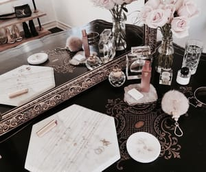girly, luxury, and roses image